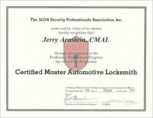 Certified Automotive Locksmith - Autokey